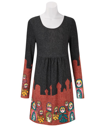 russian dolls dress