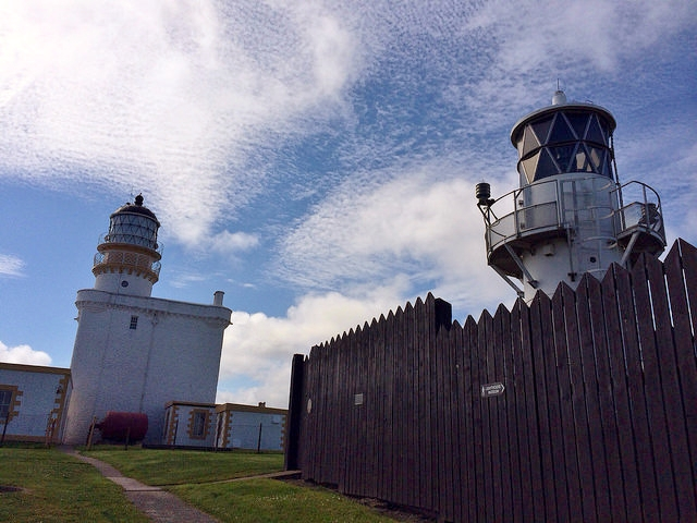 old lighthouse, new lighthouse