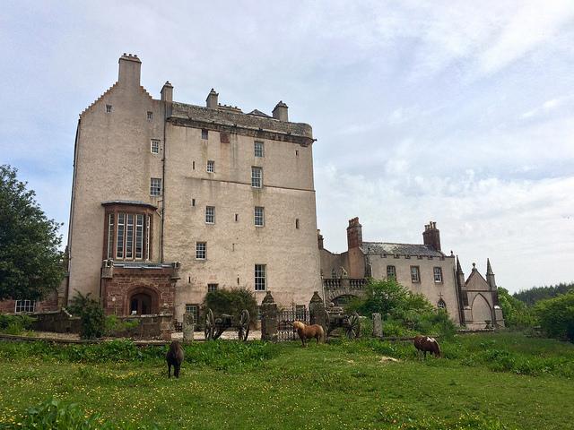 Delgatie Castle